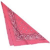Pink Cowgirl tørklæde til din Cowgirl udklædning.