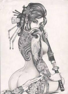 Resultado de imagem para mascara samurai tattoos