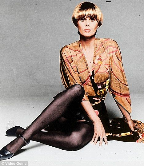 Trend setter: Joanna Lumley as Purdey in the hit 70s show the New Avengers