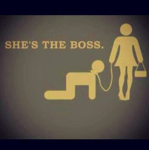 Shes the boss. Jb