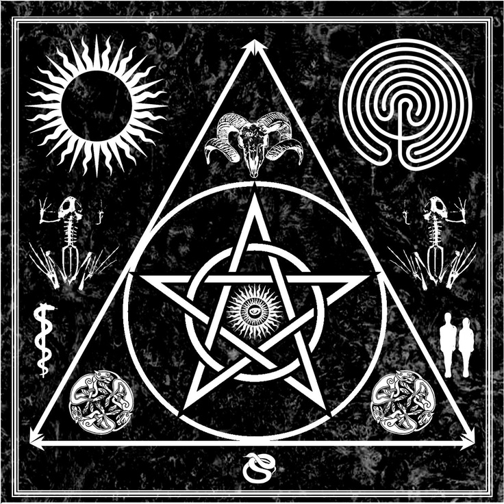 witchcraft occult triangle of art evocation privately