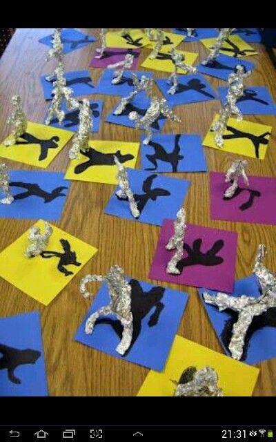 Figurative sculptures. Fabulous activity for children!