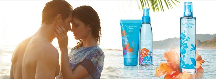 Escape to paradise! Introducing Hawaiian Shores, new in Campaign 14. Contact your Avon Independent Sales Representative today or visit http://www.ca.avon.com/PRSuite/locator.page to find one near you!