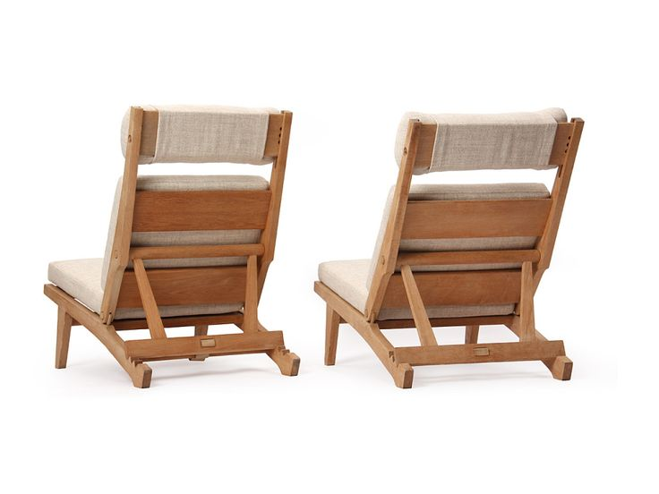 low lounge chairs by Hans J. Wegner | From a unique collection of antique and modern lounge chairs at https://www.1stdibs.com/furniture/seating/lounge-chairs/