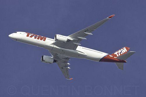 TAM Linhas Aéreas Airbus A350-941 F-WZFS (PR-XTA) | Acceptan… | Flickr