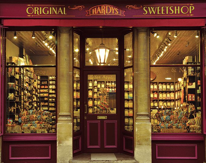 Beautiful photos of Oxford | Old fashioned sweet shop ...