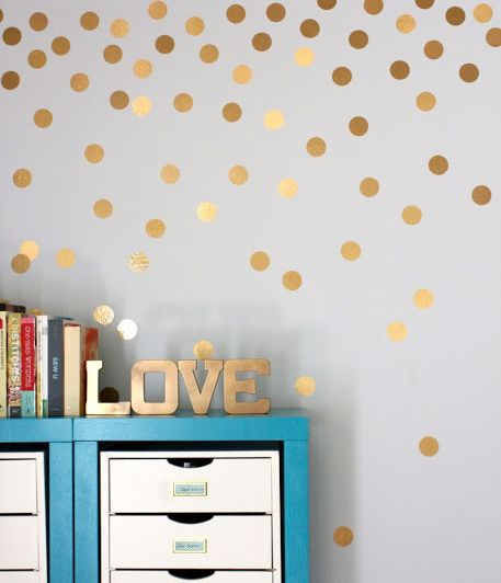 Polka Dots Wall Sticker — Removable Wall Decals  Stickers by My Friend Matilda