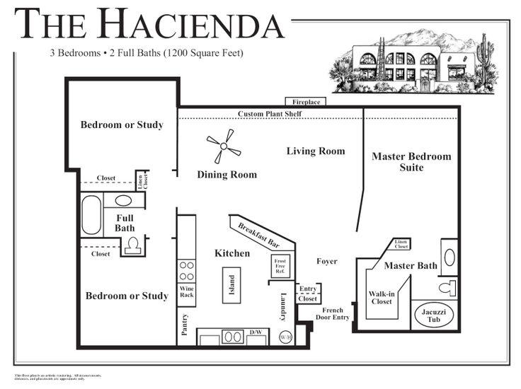 Home Plans With Guest House 33 best house plans images on pinterest | haciendas, house floor
