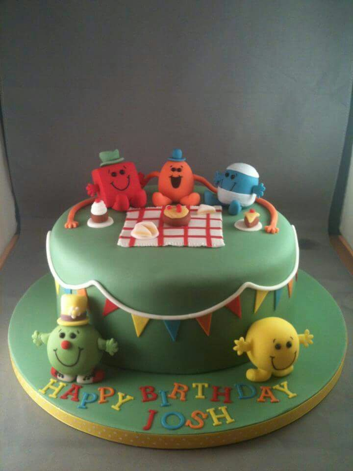 30 Best Images About Mr Men Cakes On Pinterest Birthday
