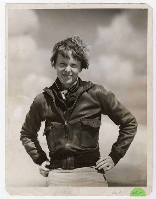 """Women, like men, should try to do the impossible."" – Amelia Earhart #happywomensday"
