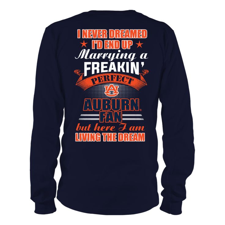 Auburn Tigers - Living The Dream Back picture