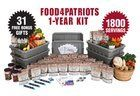Win a 1-Year Food4Patriots Survival Food Kit (1,800 Meals + Bonuses) (RV $1,997) (3/30/2017) #giveaway #sweeps #win http://time4giveaways.com/2017/03/21/win-a-1-year-food4patriots-survival-food-kit-1800-meals-bonuses-rv-1997-ww-3302017-giveaway-sweeps-win/