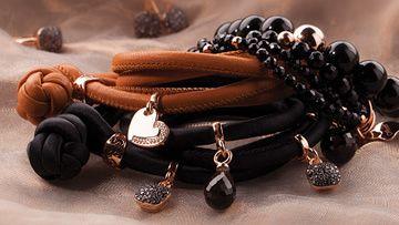 Womani bruine tinten armbanden