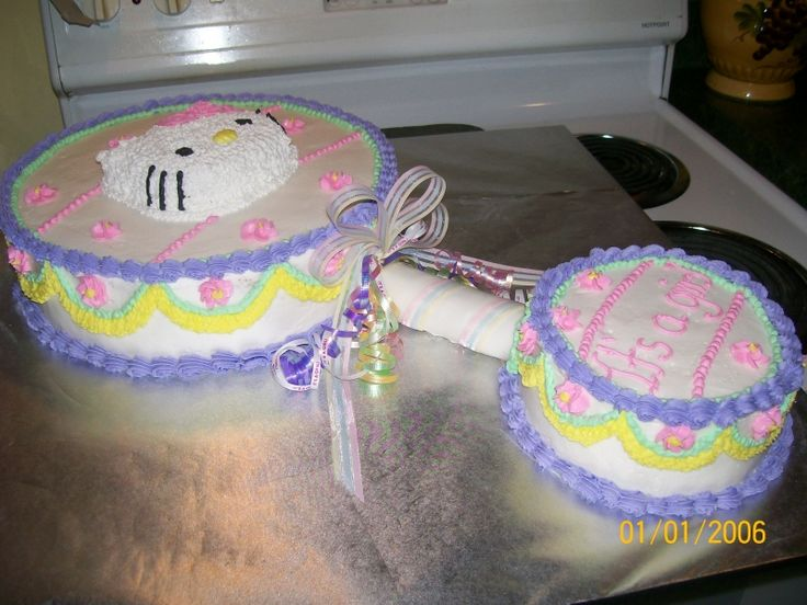 hello kitty baby shower | ... do you think of this Hello Kitty baby shower cake? - Yahoo! Answers