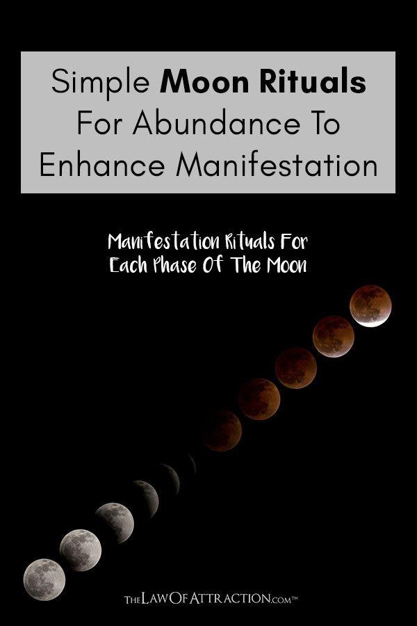 Simple Moon Rituals For Abundance To Enhance Manifestation Moon