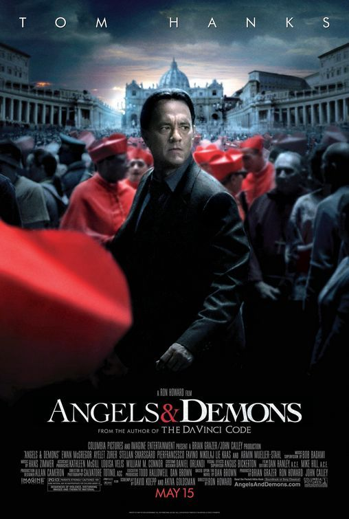 Angels & Demons is still one of my very favorite films. Full of wit, history, and thrills. And to address the accusations that Dan Brown just attacks religion, my devoutly Catholic grandmother read all his books and watched the films and loved them. Some people waste their lives trying to find offense in everything around them.