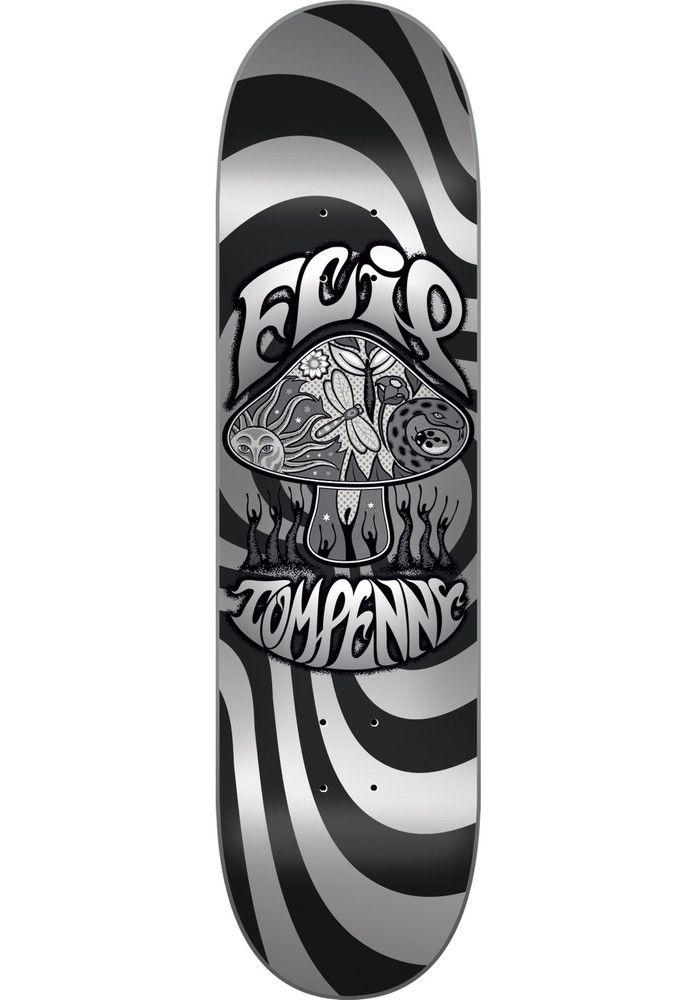 Flip Penny-Greyshroom - titus-shop.com  #Deck #Skateboard #titus #titusskateshop