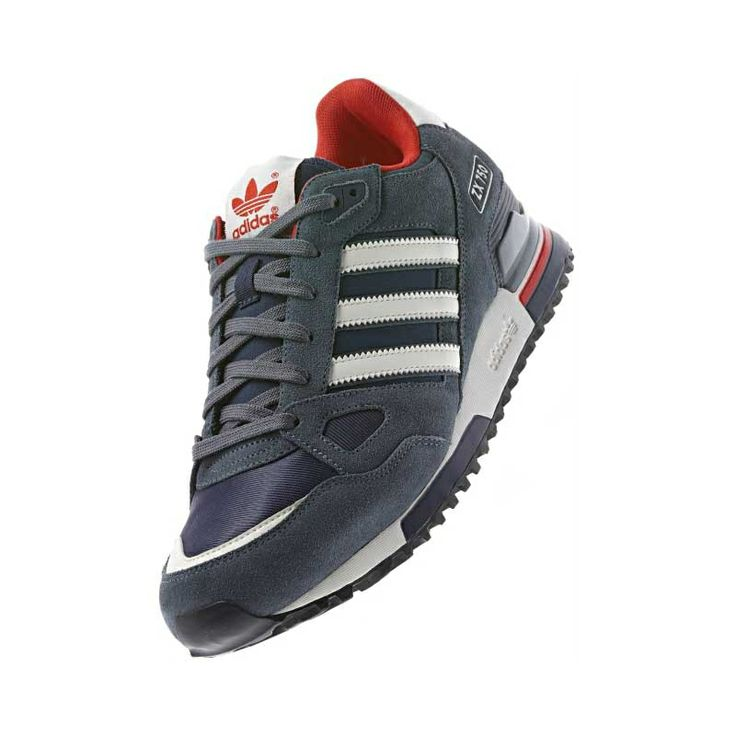 adidas Originals - zx 750 NNY / Chalk2 / Lead (G64208) | Retro Running shoes  | Pinterest | Adidas, Men sneakers and Running shoes