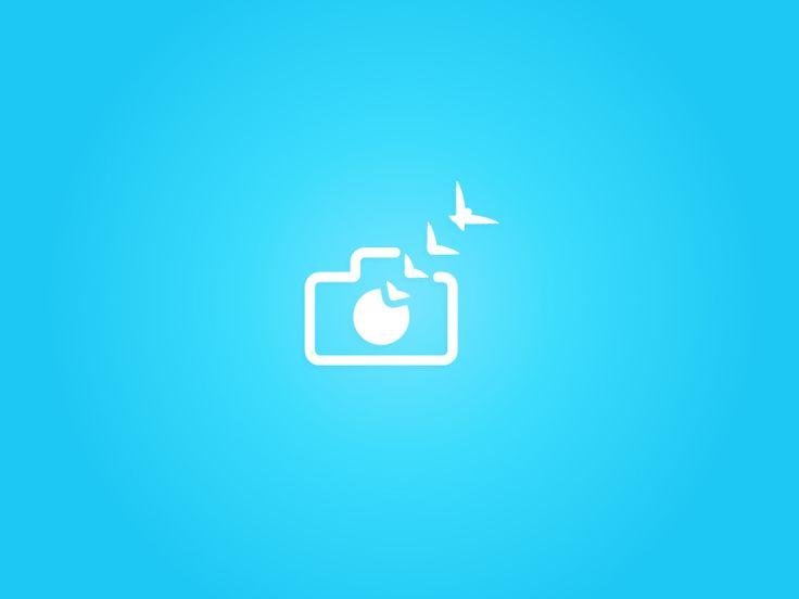 [Logo] Image Imagination by Adil Siddiqui #logo #illustration #camera #birds