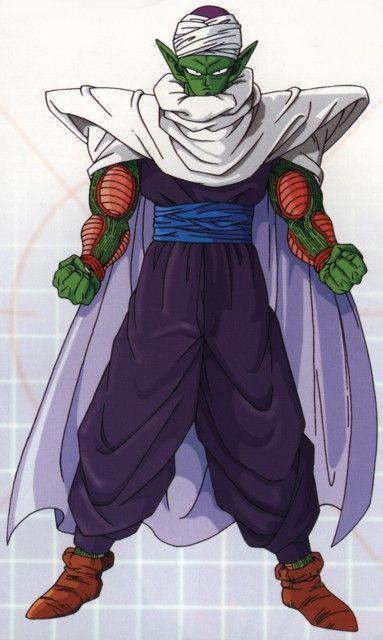 Dragon Ball Z Anime Characters : Piccolo who basically raised gohan dragon ball z