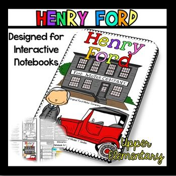 Henry Ford: Are you studying inventors and inventions, more specifically, are you studying Henry Ford? Do you love interactive notebooks? If so, this passage and interactive notebook flippable activity will work perfectly for you. Why do I think you will love my passages?