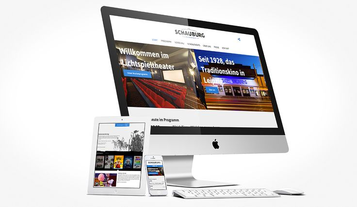Schauburg Leipzig Website C2 Interfacedesign Leipzig / http://www.schauburg-leipzig.de