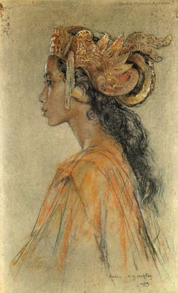 Willem Gerard Hofker Indonesian art