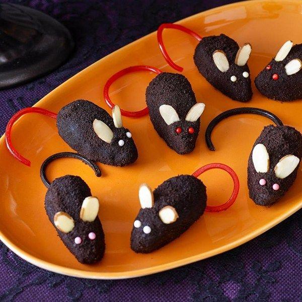Chocolate Mice Rezept In 2019 Halloween Recipes