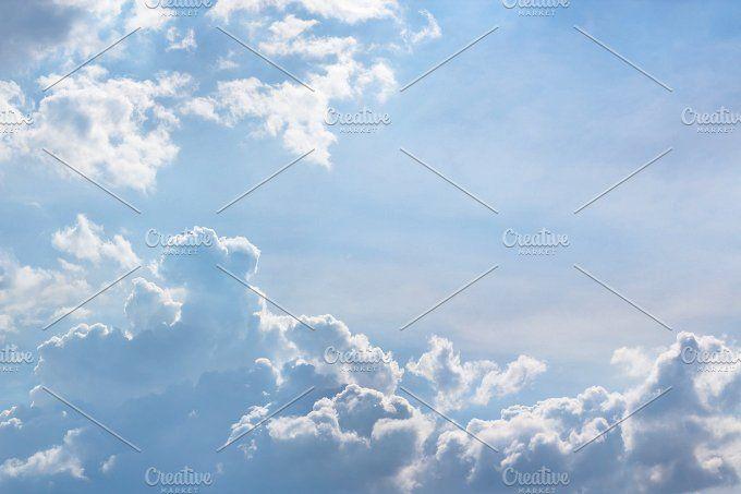 beautiful blue sky  by nednapa on @creativemarket