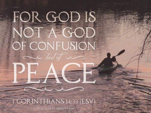 Defeating Confusion - 1 Corinthians 14:33