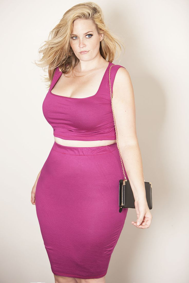 94 best High Waist Plus Size Fashion images on Pinterest