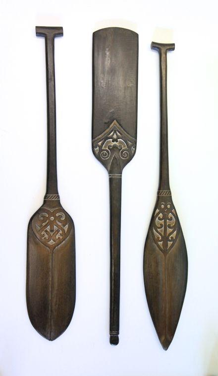 Maori Art New Zealand Paddle