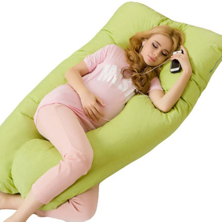 Luxury Pregnancy and Baby Feeding Pillow - Large and Comfortable - Maternity Body Pillow - Removable Cover