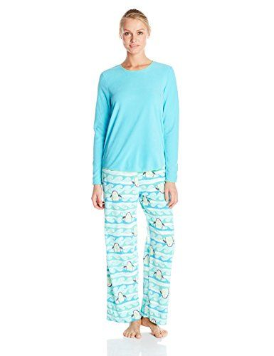 Hue Sleepwear Women's Artic Wave Fleece Pajama Set - http://dressfitme.com/fashion/hue-sleepwear-womens-artic-wave-fleece-pajama-set/