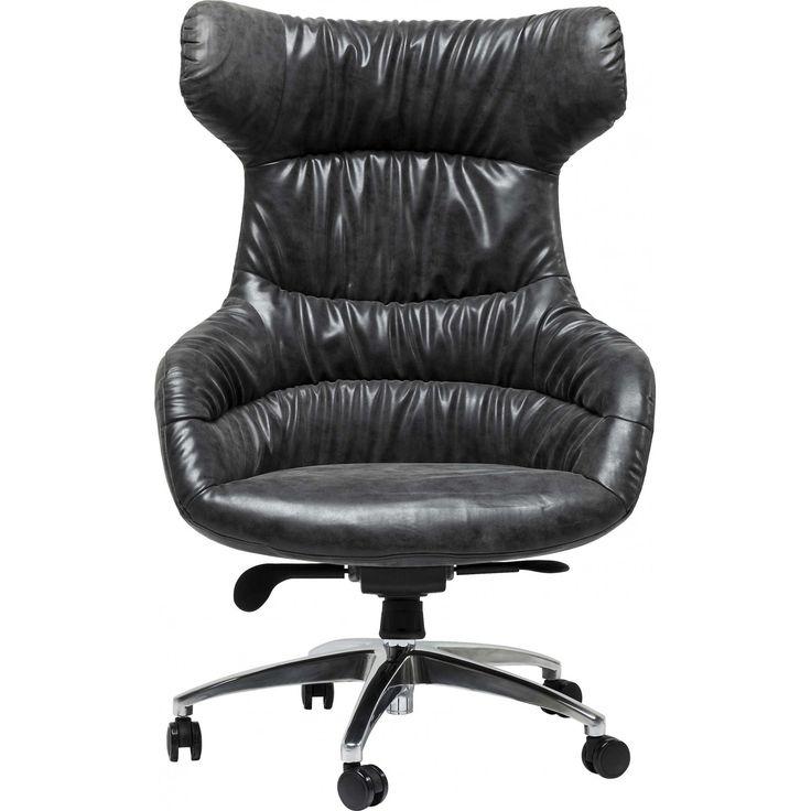 les 25 meilleures id es concernant fauteuil de bureau cuir. Black Bedroom Furniture Sets. Home Design Ideas