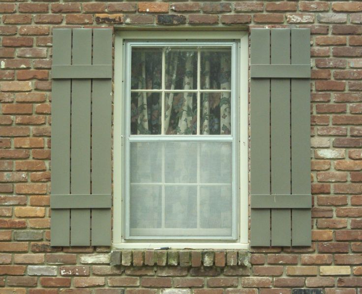 31 best Shutters images on Pinterest | Outdoor shutters, House ...