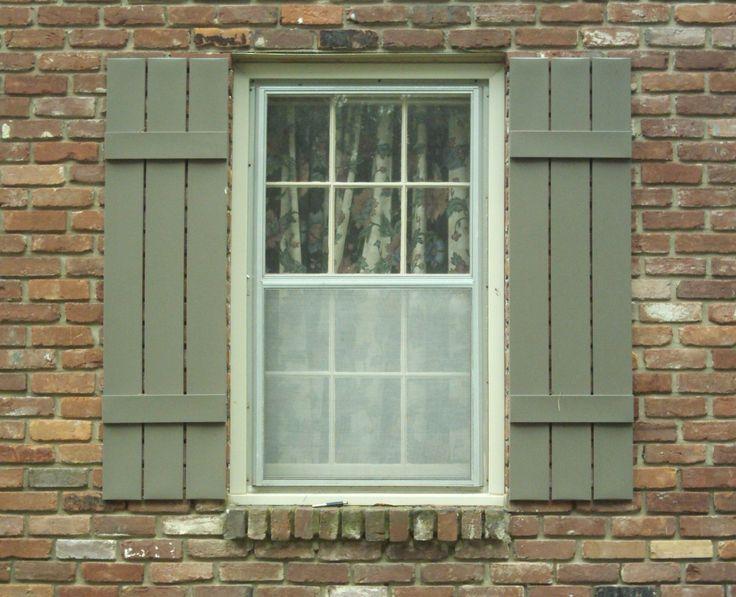 Outdoor Window Shutters 2017