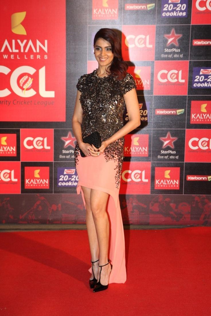Genelia D'Souza at CCL Season 3 Launch.