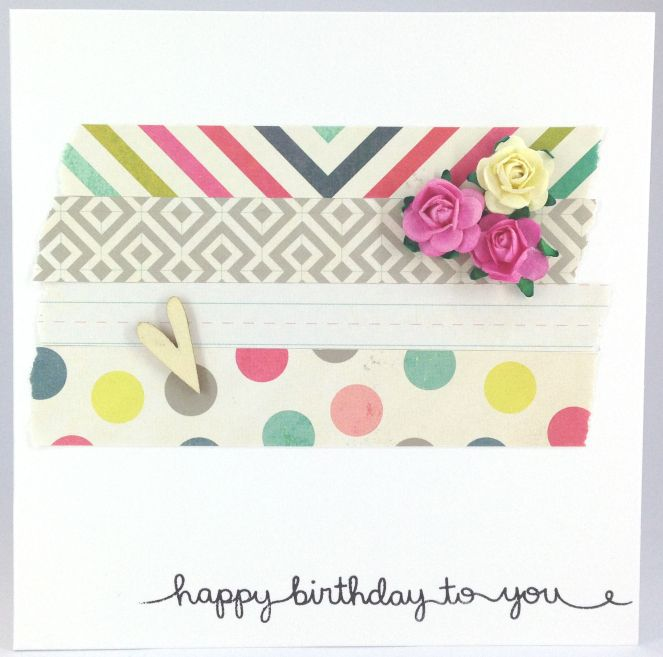 Scraps birthday card | Happy birthday card