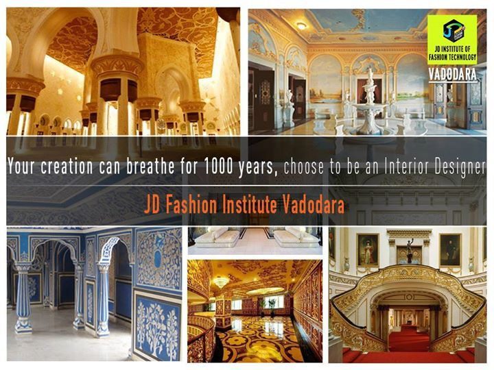Your creation can breathe for 1000 years ...! #jdfashioninstitute , #fashion , #interiordesign , #Vadodara‬