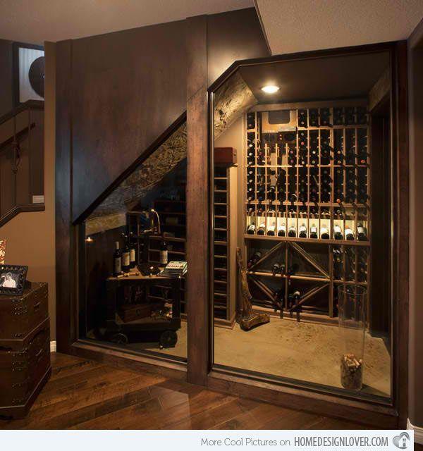 15 space savvy under stairs wine cellar ideas