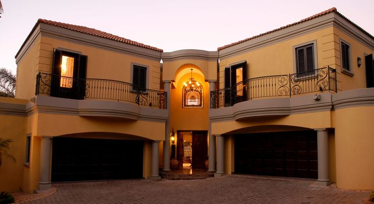 A contemporary home in Johannesburg, inspired by Classical Italian interior design and decoration.