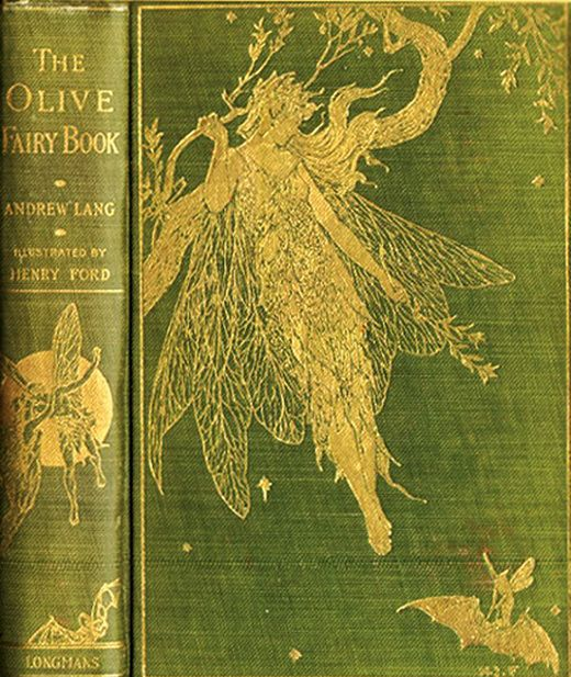 Beautiful Old Books...The Olive Fairy Book, by Andrew Lang, 1907.
