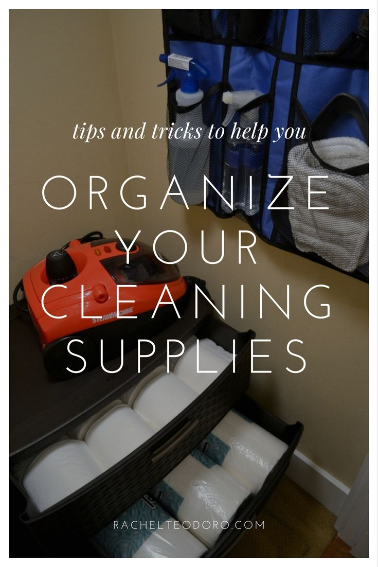 Tips and Tricks to Help You Organize Your Cleaning Supplies #AD #homeright #organize
