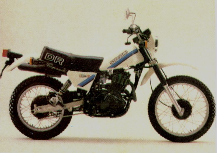 """this is a """"before"""" pic of a stock standard Suzuki DR500.... LOL..."""