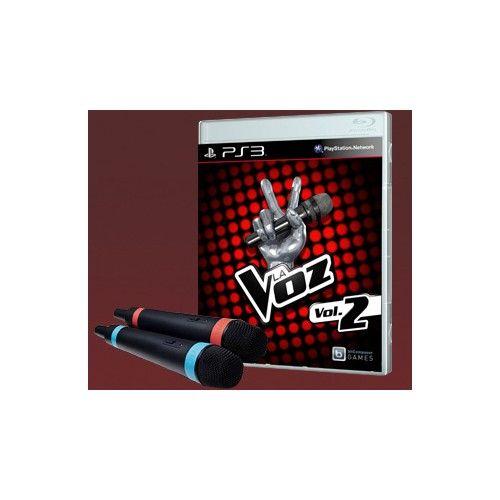 La Voz vol. 2 + 2 Micrófonos Wireless PS3