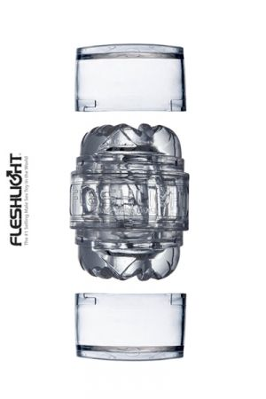 Mini Masturbateur Transparent Fleshlight Quickshot Vantage