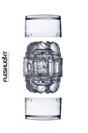 Mini Masturbateur Transparent Fleshlight Quickshot Vantage