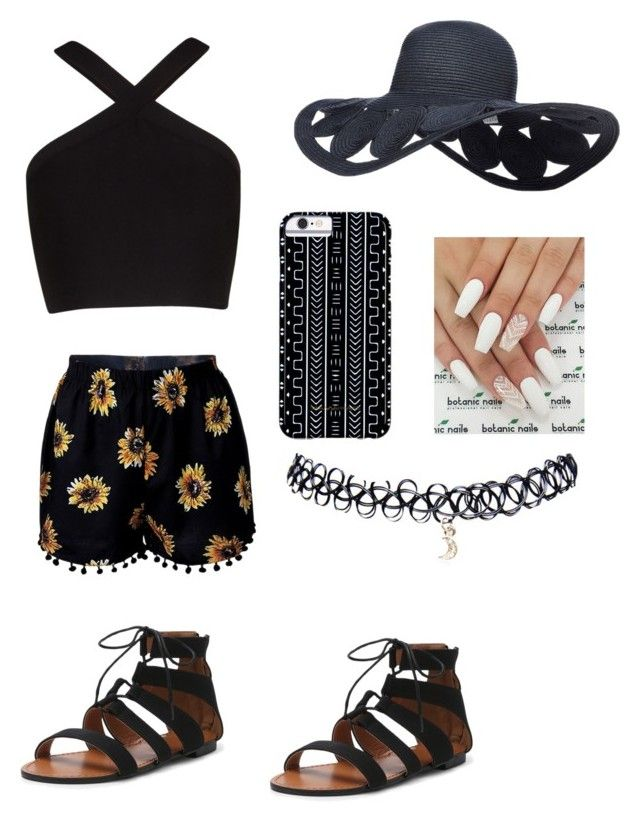 """""""Summer day"""" by queenshaima on Polyvore featuring BCBGMAXAZRIA, Savannah Hayes and Wet Seal"""