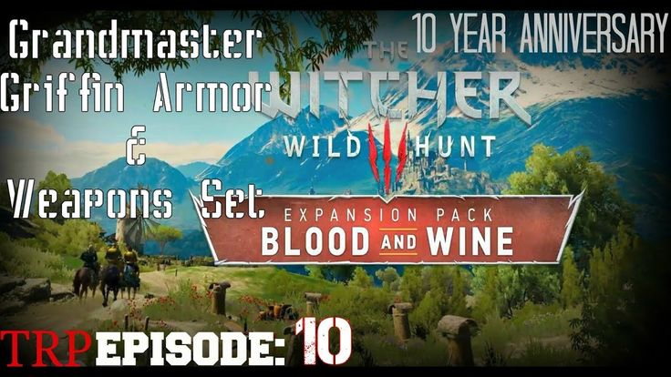 The Witcher 3 Wild Hunt: Blood And Wine EP10 - Grandmaster Griffin Armor...